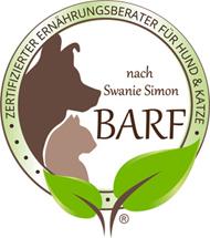 Zertifizierter Ernährungsberater für Hund & Katze mit Schwerpunkt BARF nach Swanie Simon